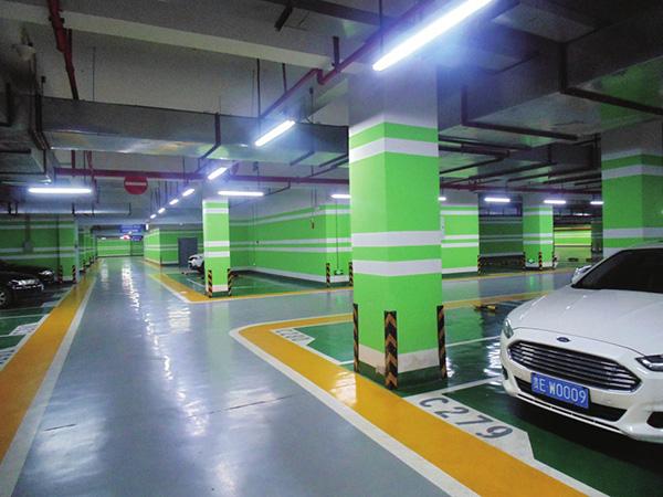 贵州地下车库环氧地坪