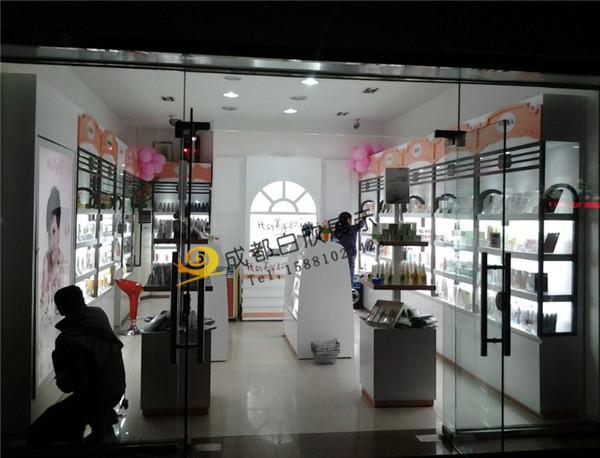 成都化妆品展柜制作厂