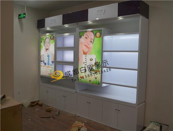 绵阳化妆品展柜