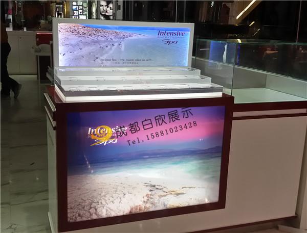 遂宁化妆品展柜设计