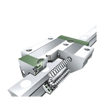 INA直线导轨KUE25-标准型二列式滑块