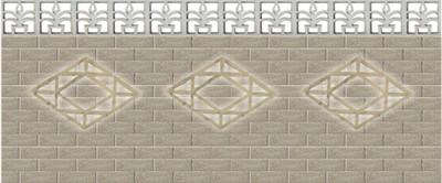 水泥花格砖价格
