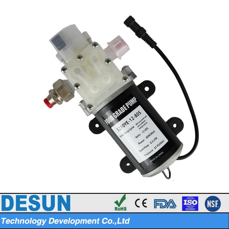 食品级微型隔膜泵YE-12-80S