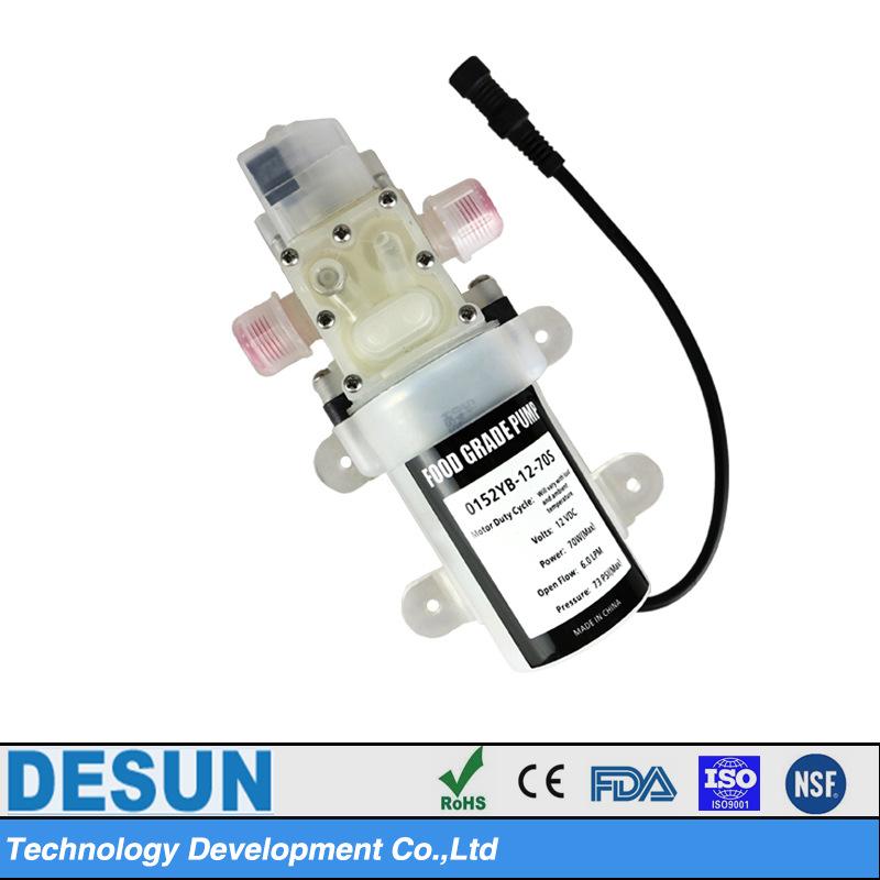 食品级微型隔膜泵YB-12-70S