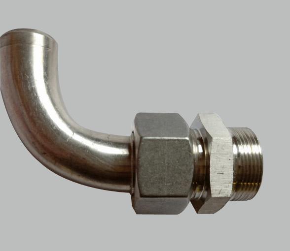 90°弯锥密封焊接式管接头