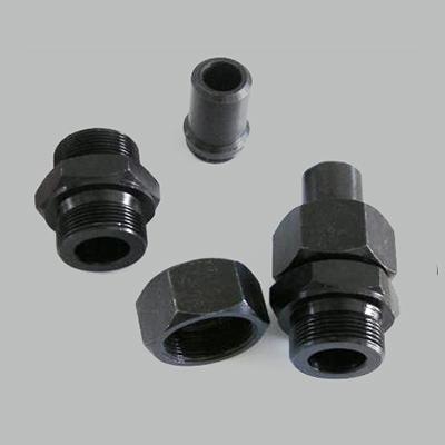 錐密封焊接式直通圓錐管螺紋管接頭