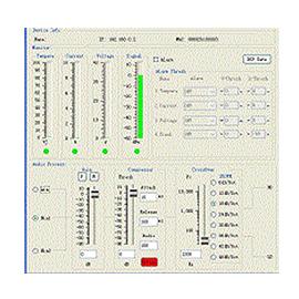 网络音箱状态实时监控PC软件