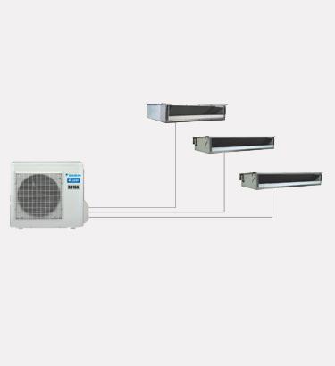 大金中央空调—PMX系列