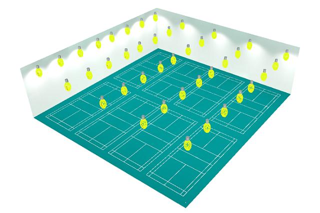 羽毛球馆照明解决方案