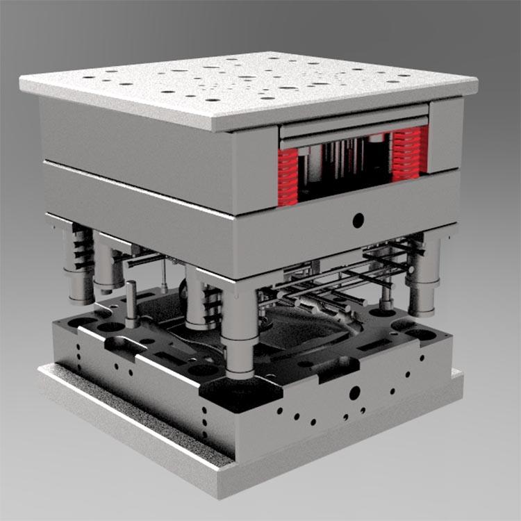 大湾区注塑模具加工源头厂家 设计定制大型注塑模具