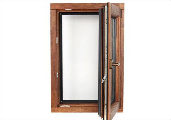 潍坊铝包木内开门窗