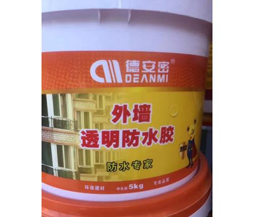 贵州外墙透明防水胶