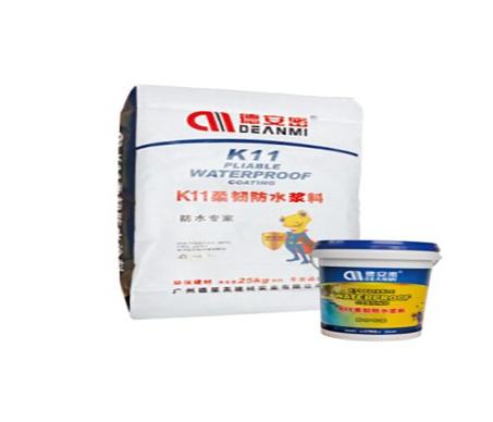 K11柔韧防水浆料