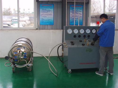 LNG低温气瓶检测
