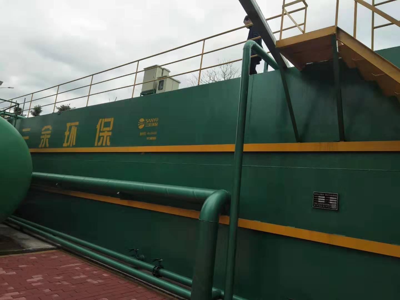 赣州江口圩镇处理量500吨每天