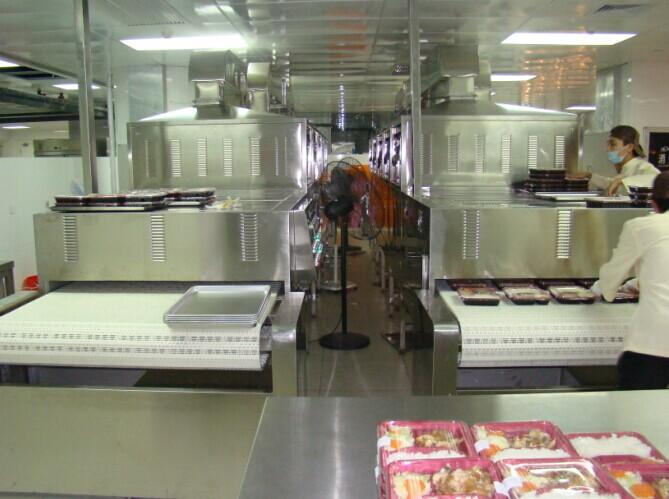 微波冷链盒饭加热设备是由山东微波烘干机厂家生产
