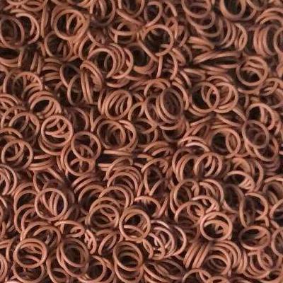 紅棕色矽膠圈