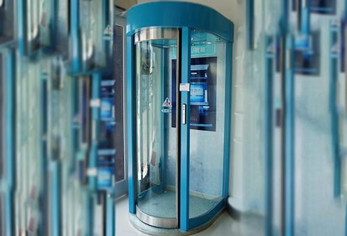 银行防护门