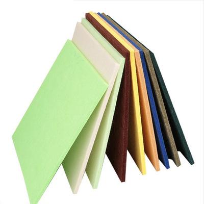 环保耐磨聚酯纤维吸音板