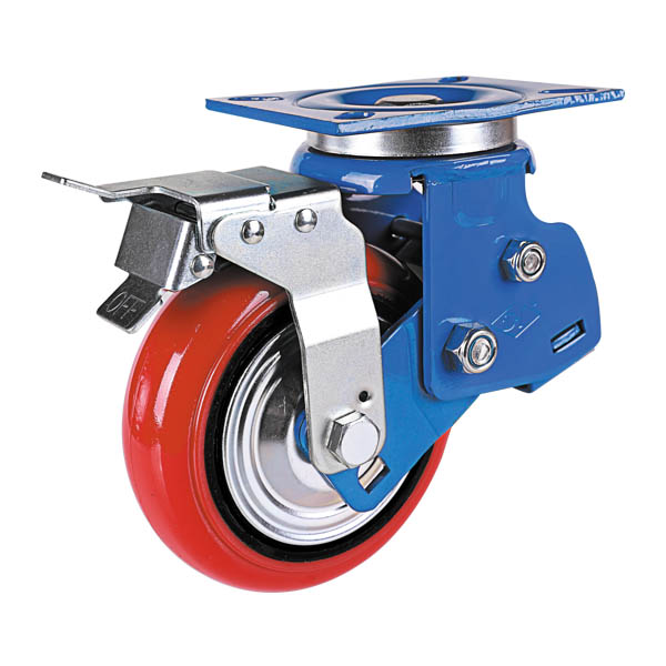 韩式铝芯聚氨酯轮旋转后刹