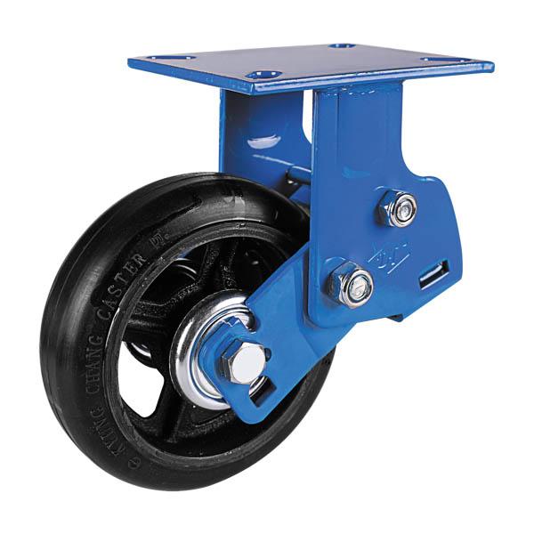 铸铁橡胶轮固定
