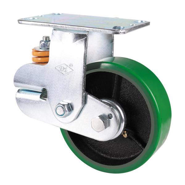 美式铁芯聚氨酯轮固定