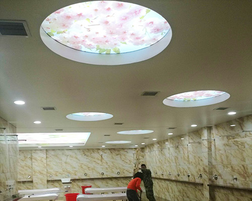 哈尔滨洗浴天花板