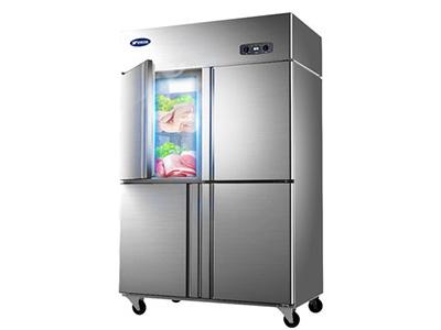銀都雙溫六門冰箱