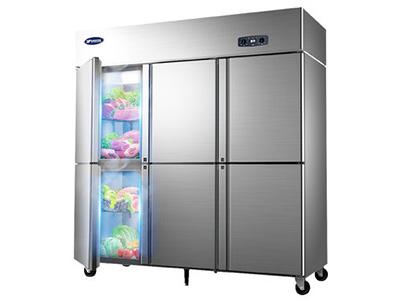 銀都雙溫六門冰箱廠家