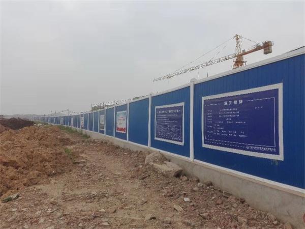 湖北pvc围挡护栏