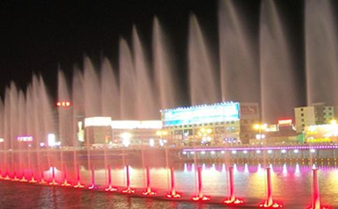 浙江喷泉水景