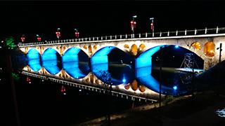 螺河一河两岸照明项目_照明设计公司_筑影设计