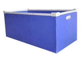 胶箱型中空板周转箱