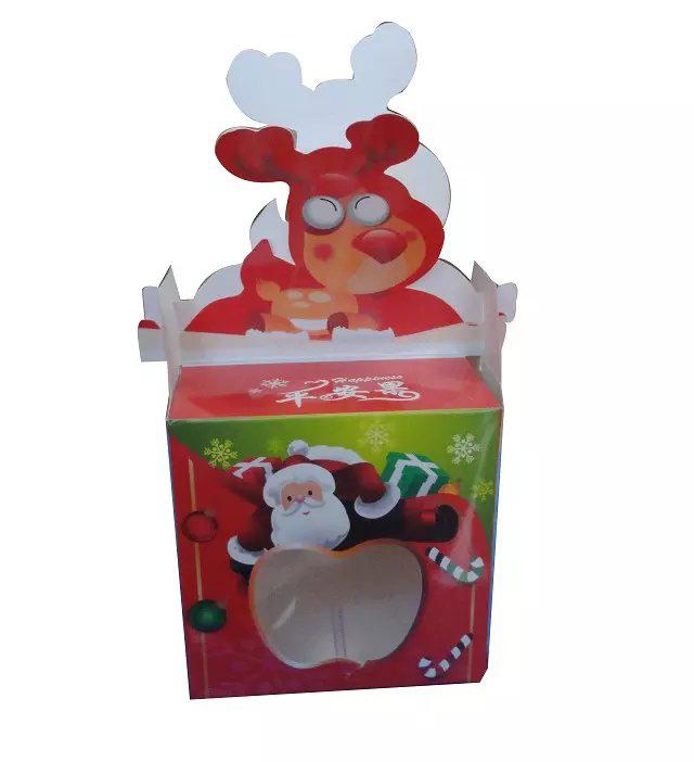 圣诞节苹果包装纸盒
