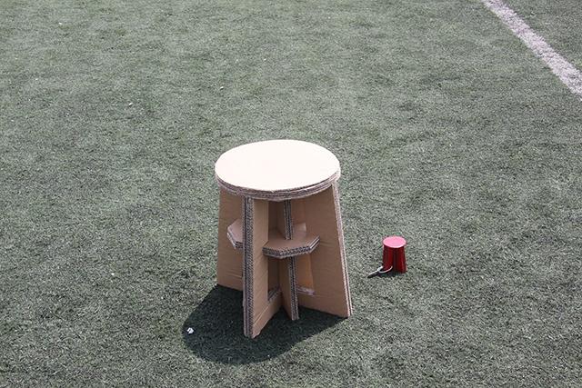 创意展示纸板椅
