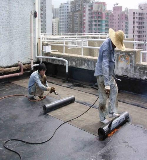 武汉别墅楼顶防水