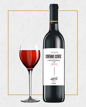 赤霞珠、西拉子混酿干红葡萄酒