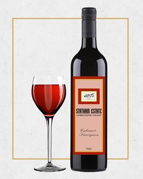 石灰岩海岸典藏干红葡萄酒