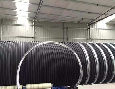 聚乙烯HDPE埋地钢塑复合缠绕排水管