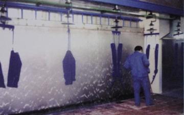 水膜喷漆房