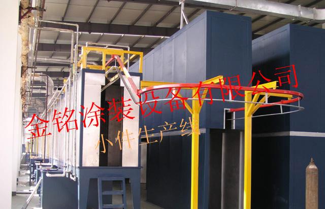 清洗喷漆烘干生产线