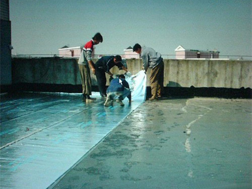 屋面防水补漏施工