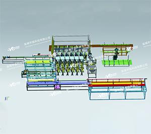 盘扣式脚手架自动化生产线