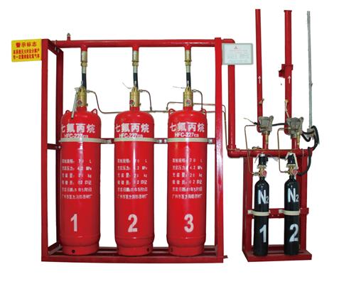 管网式七氟丙烷自动灭火系统