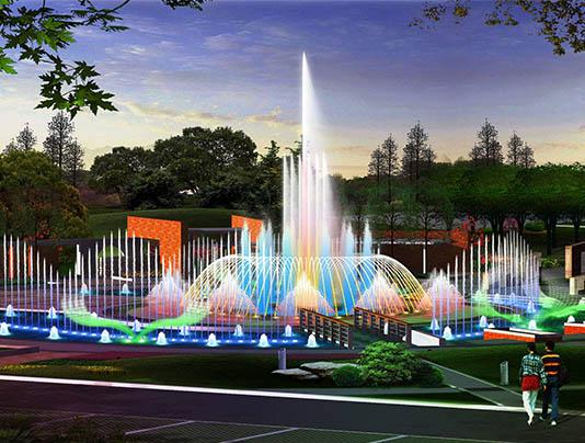 聊城喷泉施工
