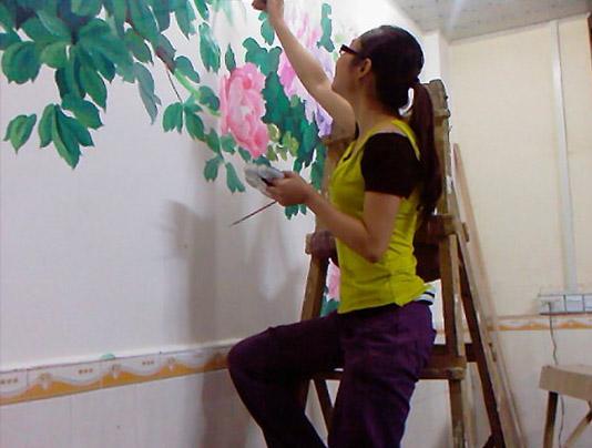山东墙绘制作