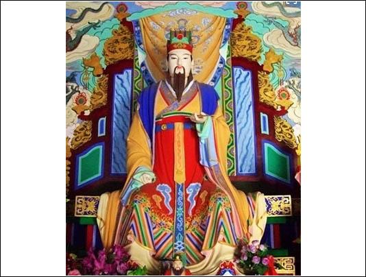 山东神像墙绘