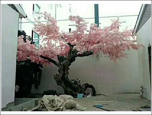 青岛仿真树