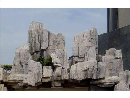 烟台塑石假山