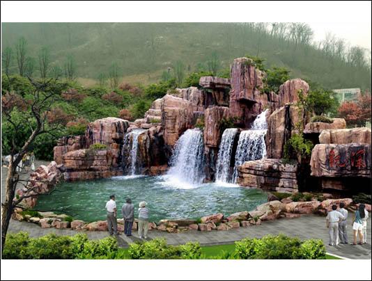 潍坊塑石假山